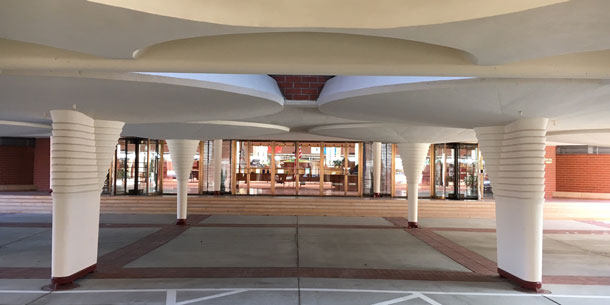 Johnson Wax Headquarters Bey Arch